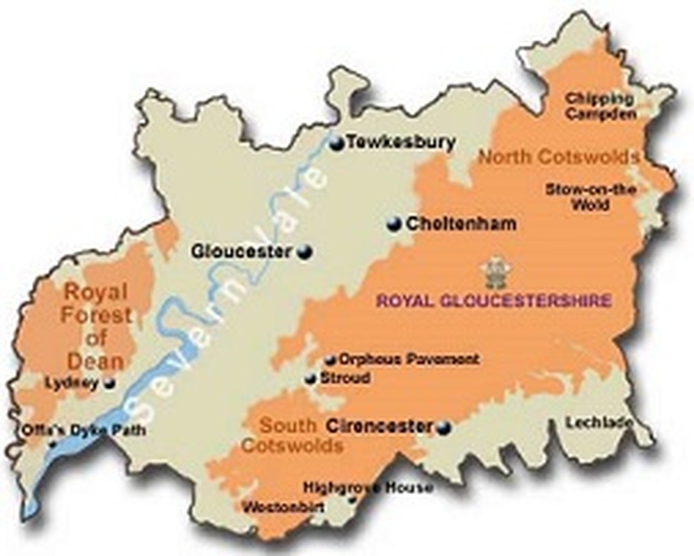 gloucestershire-county-map